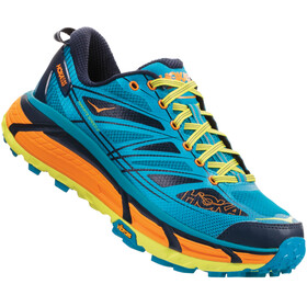Hoka One One M's Mafate Speed 2 Running Shoes caribbean sea/autumn glory